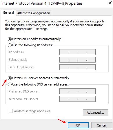 Obtain Dns Server Auto Min
