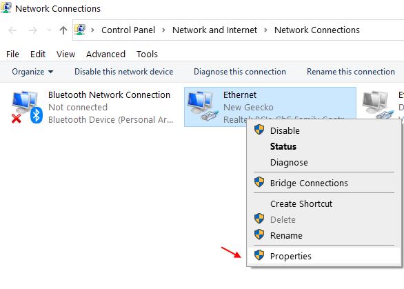 Properties Network Min