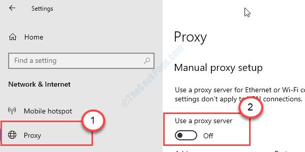 Proxy Server Disable Settings Min