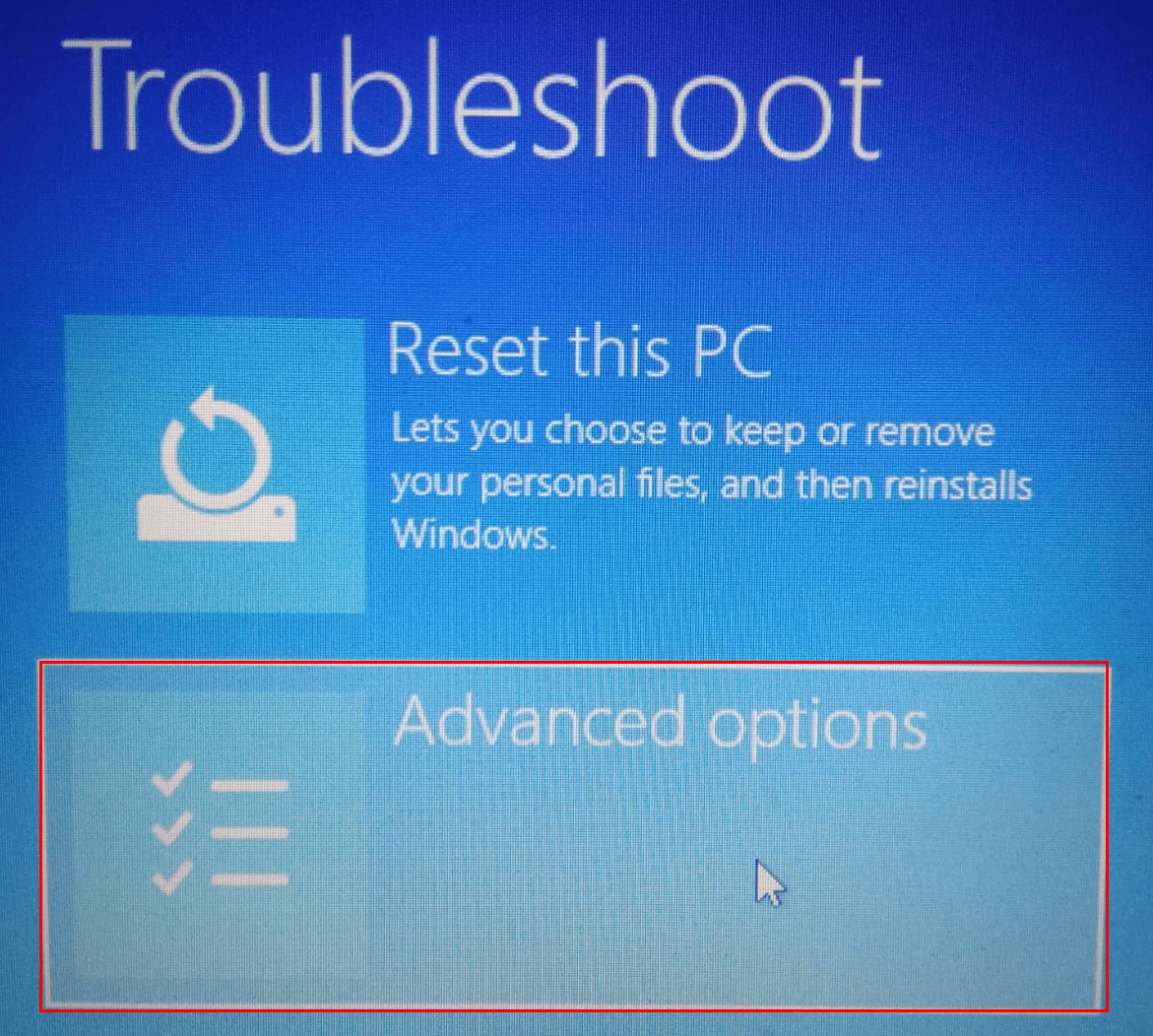 Troubleshoot Advanced Min