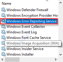 Windows Error Report Dc Min
