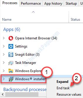 Windows Installer End Min
