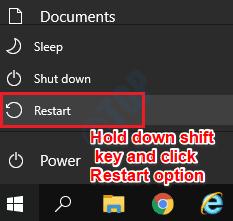 1 Shift Restart