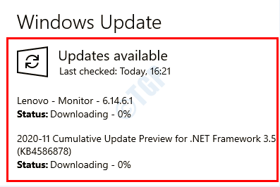 10 Windows Updating