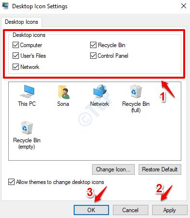 11 Desktop Icon Settings