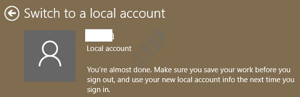 11 Local Account Last Step