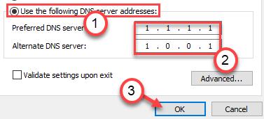 1111 Dns Server