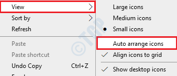12 Auto Arrange Icons