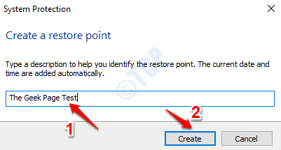 12 Name Restore Point
