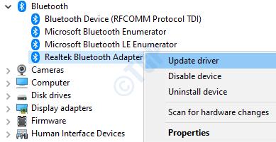 12 Update Bluetooth Driver