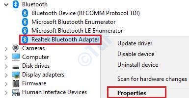 14 Bluetooth Driver Properties