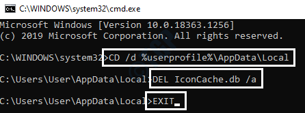 17 Cmd Delete Icon Cache
