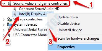 2 Audio Driver Properties
