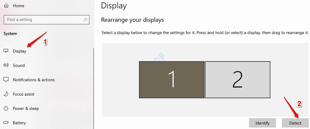 2 Detect Displays