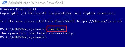 2 Powershell Verifier