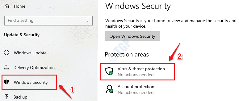 2 Virus And Threat Protection Optimized