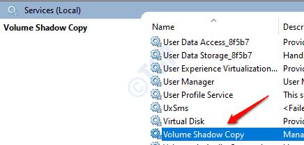 2 Volume Shadow Copy Service