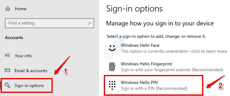 23 Windows Hello Pin