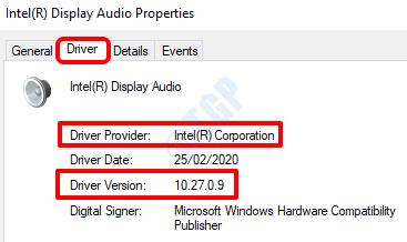 3 Audio Driver Version Provider
