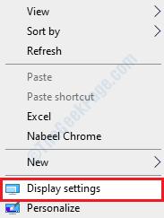 3 Desktop Display Settings