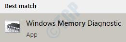 3 Memory Diagnostic