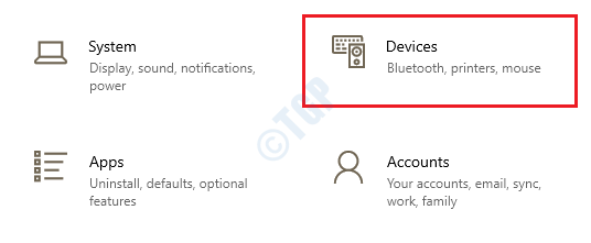 3 Settings Devices