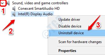 4 Audio Driver Uninstall