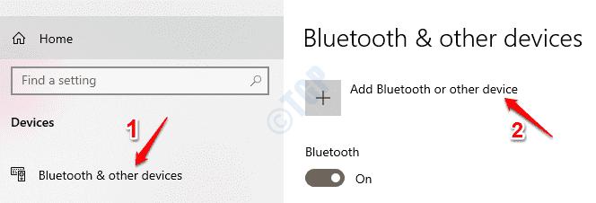 4 Bluetooth Add Device