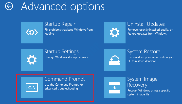 4 Startup Repair Startup Command Prompt