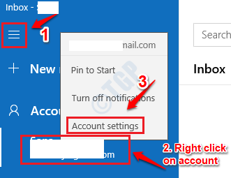 44 Mail App Modify Account Settings
