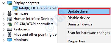 7 Update Display Driver
