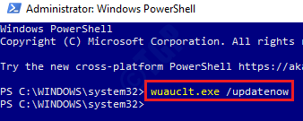8 Powershell Wuauclt Update