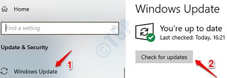 9 Check Windows Updates