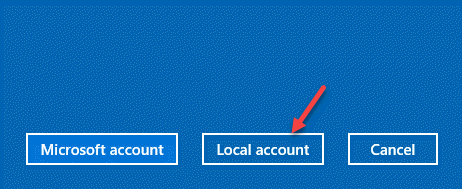 Add A User Local Account