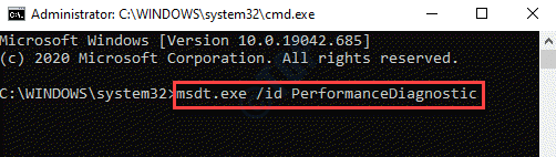 Command Prompt (admin) Run Command For Performance Diagnostics Enter
