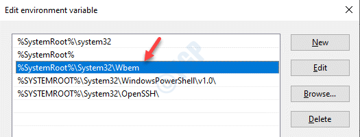 Edit Environment Variable Make Sure It Contains System32 Wbe Path Ok