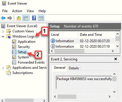 Event Viewer Windows Logs Setup