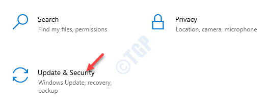 Settings Update & Security