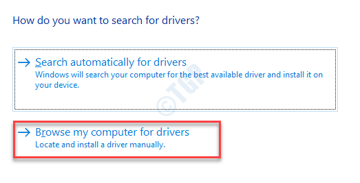 Update Drivers Browse My Computer For Drivers