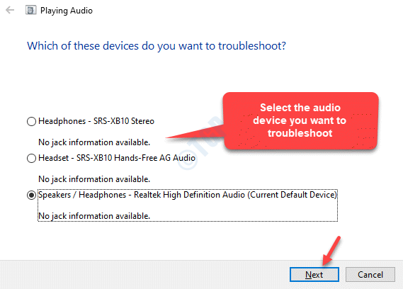 Which Of These Devices You Want To Troubleshoot Next