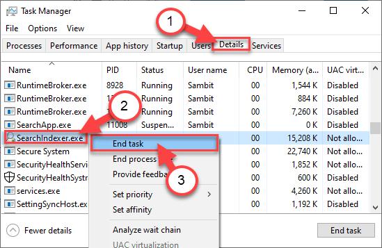 Windowsearch End Task Min