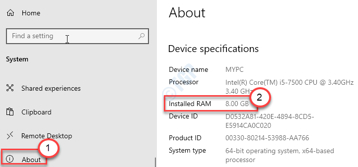 About Installled Ram Min