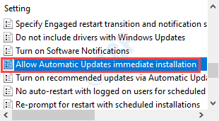 Allow Automatic Updates