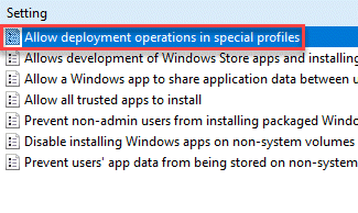 Allow Deployment Operations In Special Profile Min