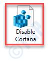 Disable Cortana