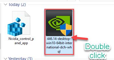 Double Click Installer Min