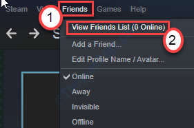 Friends View Friends List Min