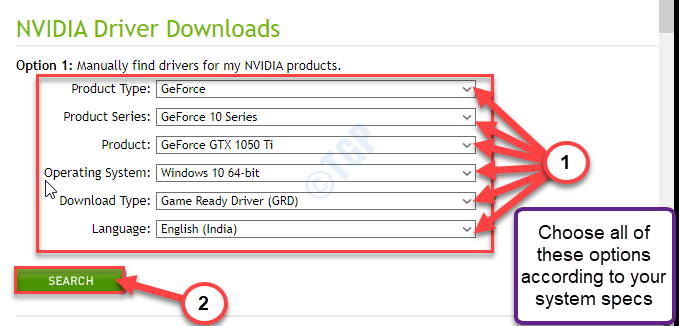 Geforce Search Min