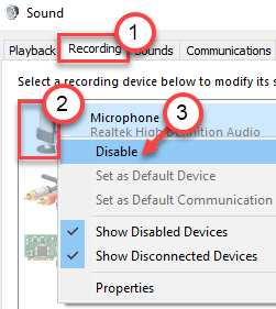 Microphone Disable Min