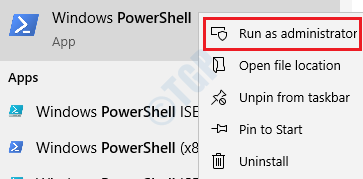 Powershell Run As Admin